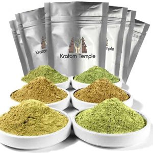 KRATOM POWDER 6 OZ SAMPLER PACK