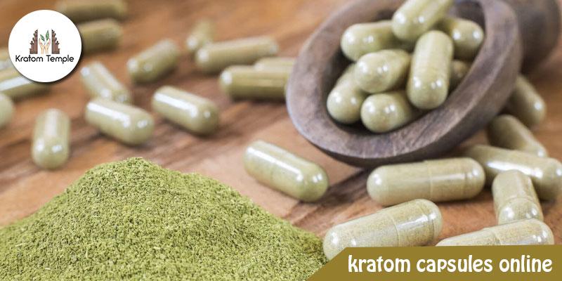 kratom capsules online